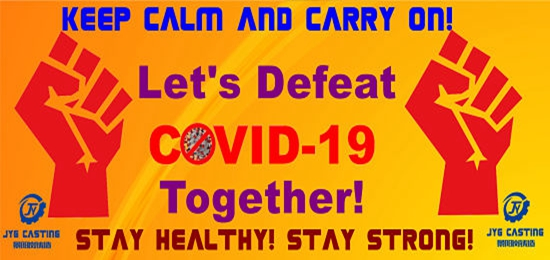 Stand United to Defeat the COVID-19 Pandemic!